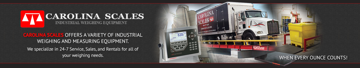 Scale Rental for Year-End Inventory - Carolina Scales - West